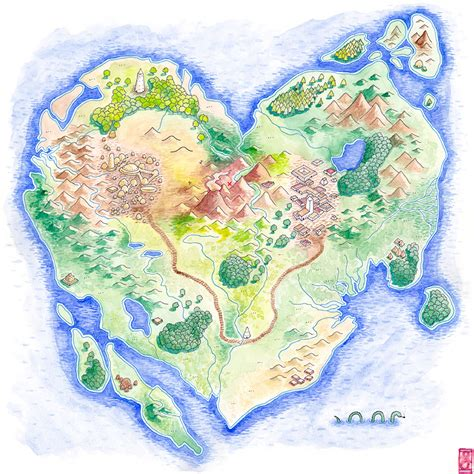 map of islands island maps