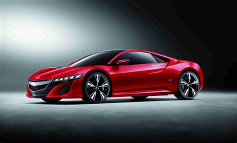 nissan acura 2012 acura nsx concept turns red in china autoblog