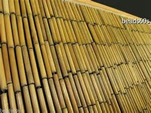 Natural plain bamboo beaded door window wall ider bead curtain 901