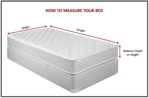 Mattress Height by To Measure The Height Of Your Mattress