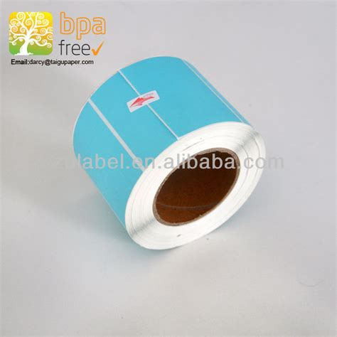 printing sticker paper roll blank self adhesive label sticker paper roll for barcode