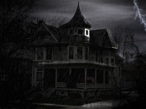 Haunted House Pictures by Background With Haunted House Scary And Creepy Pictures