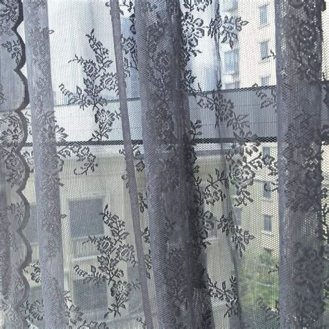 grey pattern valance top 10 best lace curtains for your home heavy com
