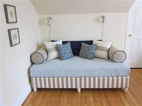 turn mattress into sofa box springs upholstered box springs and daybeds on pinterest