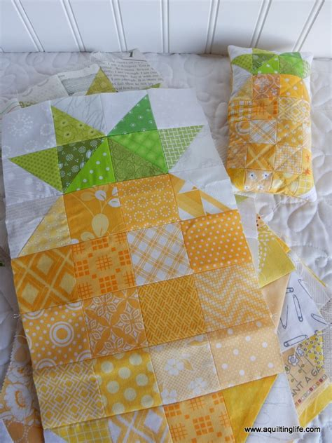 Pineapple Quilt Blocks by More Pineapple Quilt Blocks A Quilting A Quilt