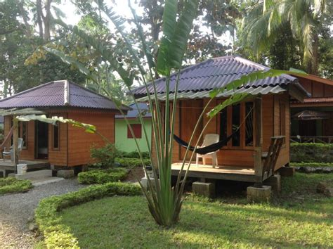 holz bungalow home sunflower bungalow resort