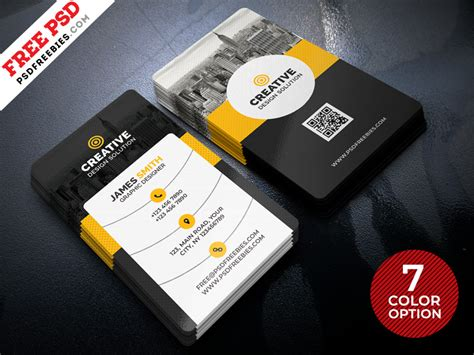 creative business card templates psd creative business cards templates psd bundle psdfreebies