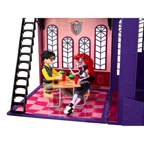 monster high high school doll house monster high high school academy dolls house toy new