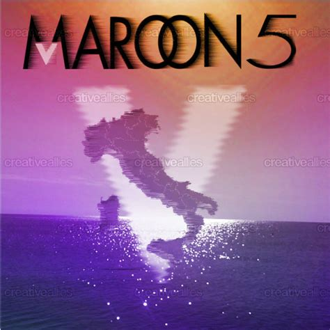 design cover maroon 5 maroon 5 album cover by erica tricarico