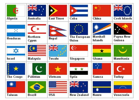 flags of the world with stars the gallery for gt flags of the world with stars