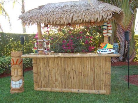 Portable Tiki Hut Portable Tiki Bar Tiki Central