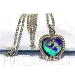 mood necklace colors color change mood necklace mood change in