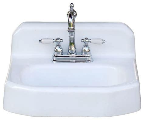 apron bathroom sink consigned kohler refinished 1958 backsplash apron wall