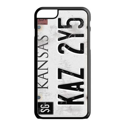 Supernatural License Plate Casing Iphone 7 6s Plus 5s 5c 4s Samsung license plates supernatural and iphone 6 cases on
