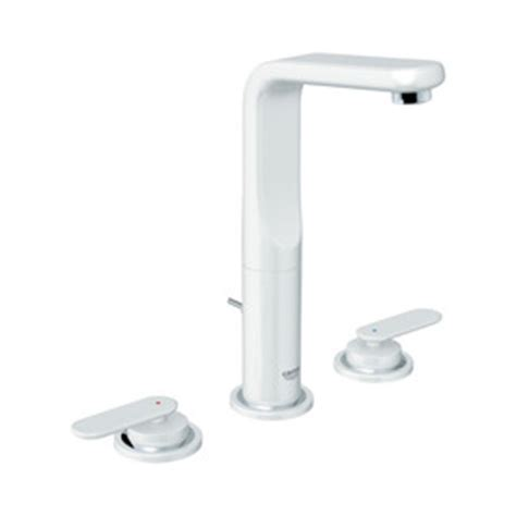 Grohe Ondus Faucet by Shop Grohe Ondus Veris Moon White 2 Handle Widespread