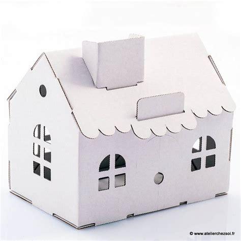 Construire Une Maison En Carton Pour Proposer De Cr 233 Er Des