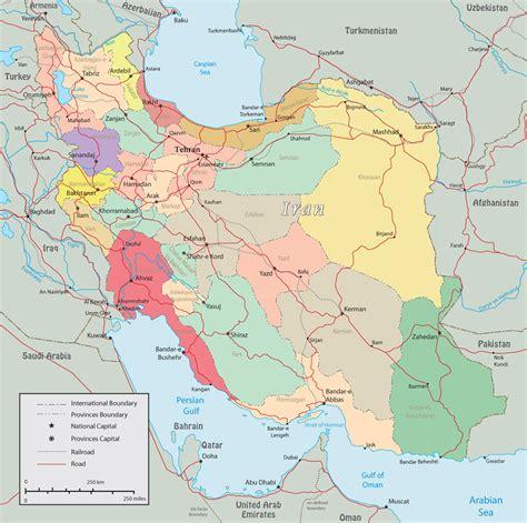 map of tehran iran ich lief kapital karte