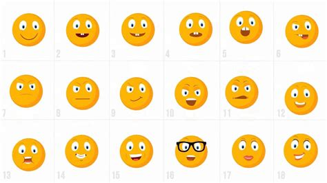 After Effects Template 2300 Animated Icons Pack Youtube Animated Emoticons Pack After Effects Template