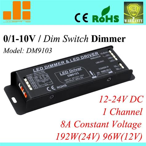 Dimmer Led 12v 8a By Indochina Cv kaufen gro 223 handel led pwm dimmer aus china led pwm