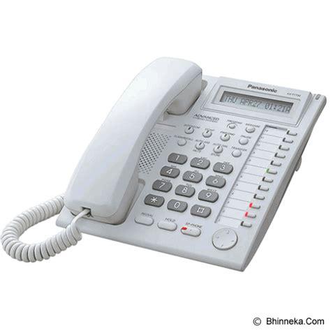 Murah Panasonic Kx T7705 White jual panasonic corded phone kx t7730 white murah bhinneka