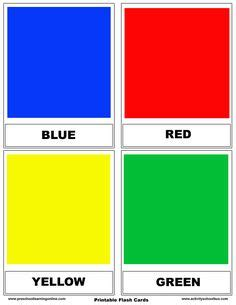 printable flash cards make your own printable color flashcards for preschoolers and easy ideas