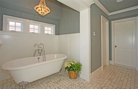 Ideas For Bathroom Windows by Hamptons Style