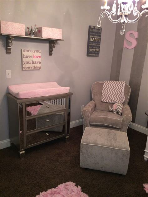 pink and white nursery gray white and pink nursery project nursery