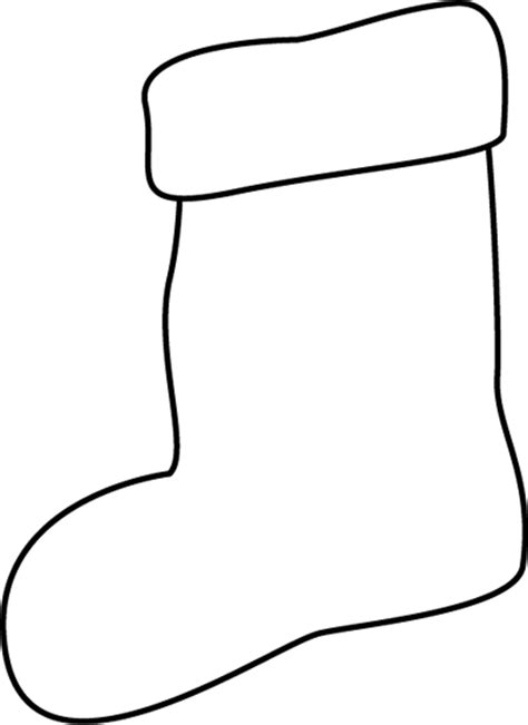 large christmas stocking coloring page black and white stocking clip art black and white