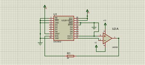 dac  bit analog  digital converter ic pinout