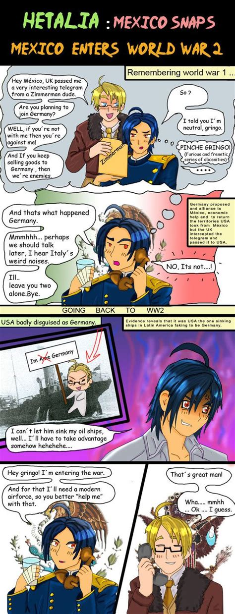The Raid Official Comic hetalia mexico world war 2 b by chaos lord on
