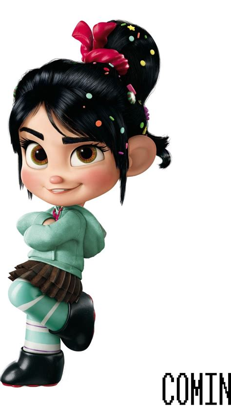 wallpaper vanellope wreck  ralph  animation movies