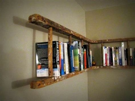 diy projects with an wooden ladder 20 inspirational