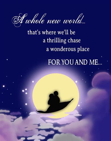 romantic disney film quotes pin disney princess aladdin romantic quote by