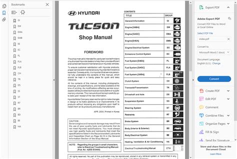 service manuals schematics 2009 hyundai tucson electronic toll collection factory workshop service repair manual hyundai tucson 2004 2009 wiring ebay