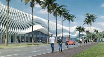 Outdoor Kitchens In Florida - miami beach moves ahead with redesigned convention center by fentress architects