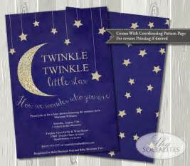 twinkle twinkle baby shower invitation baby shower ideas themes