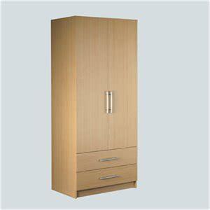 Washington Wardrobe washington 2 door 2 drawer wardrobe beech co uk kitchen home