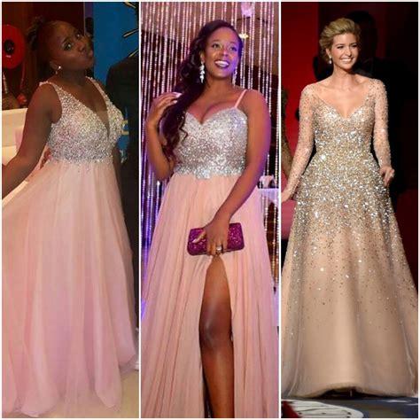 ugandan celeb ugandan celebs that rocked the tulle sequinned dress