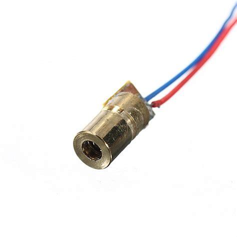 laser diode nz 20 pcs dc 5v 5mw 650nm 6mm laser dot diode module copper alex nld