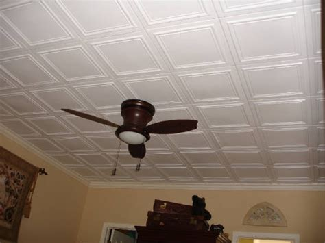 Painting A Drop Ceiling by R 24 Styrofoam Ceiling Tile Line Square Design