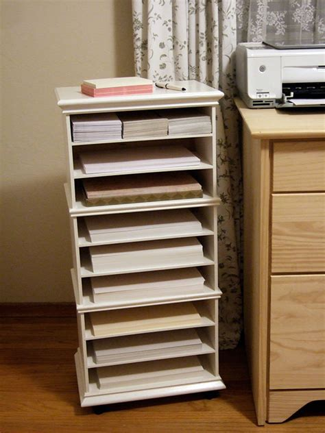 printer paper storage three ikea mini chests paper organizer crafty nest