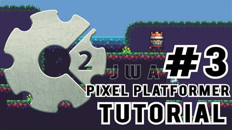 Construct 2 Custom Movement Tutorial | construct 2 how to make a pixel platformer 3 custom