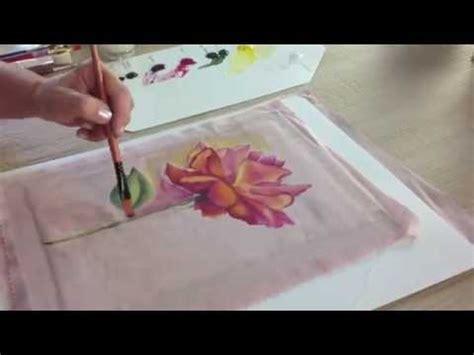imagenes para pintar sobre tela como pintar sobre tela flores ana maria paravic youtube