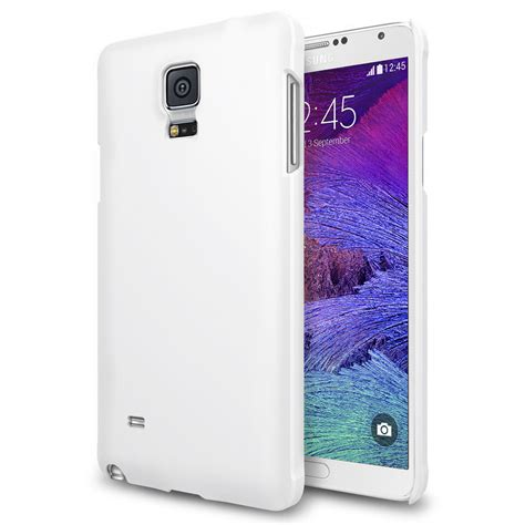PolyShield Hard Case for Samsung Galaxy Note 4 (White)