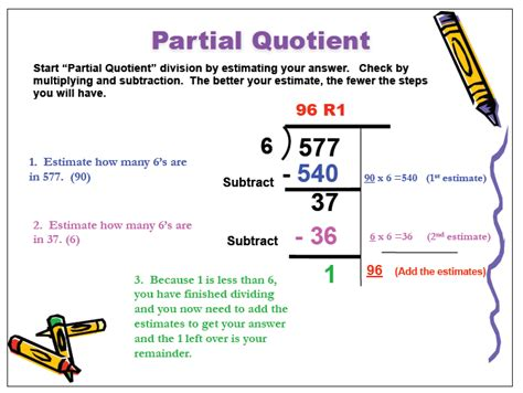 Partial Quotient Division Worksheets by Mrs Leask S Class Methods Of Division