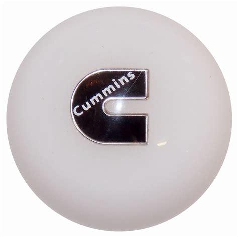 cummins c logo white shift knob