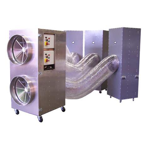 air filtration system omniaire 18000 hepa negative air machine by omnitec design inc