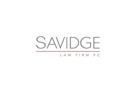 lawyer logo fonts featured client savidge firm pc