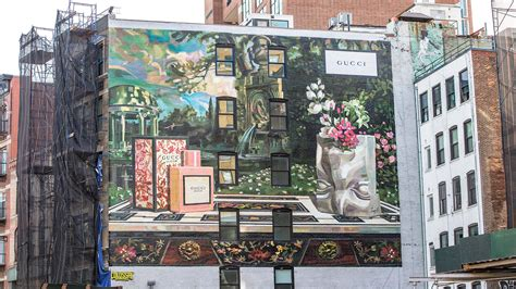 Gucci Wall gucci unveils wall project in new york milan to