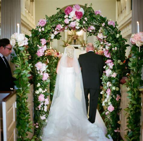 Wedding Arch Inside Church by Wedding Ideas Why Brides Peonies Inside Weddings